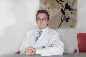Juan Manuel Cubero, oftalmólogo del Hospital La Arruzafa