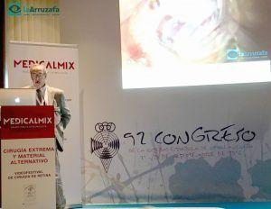 El director médico del Hospital La Arruzafa, en el 92 Congreso de la SEO
