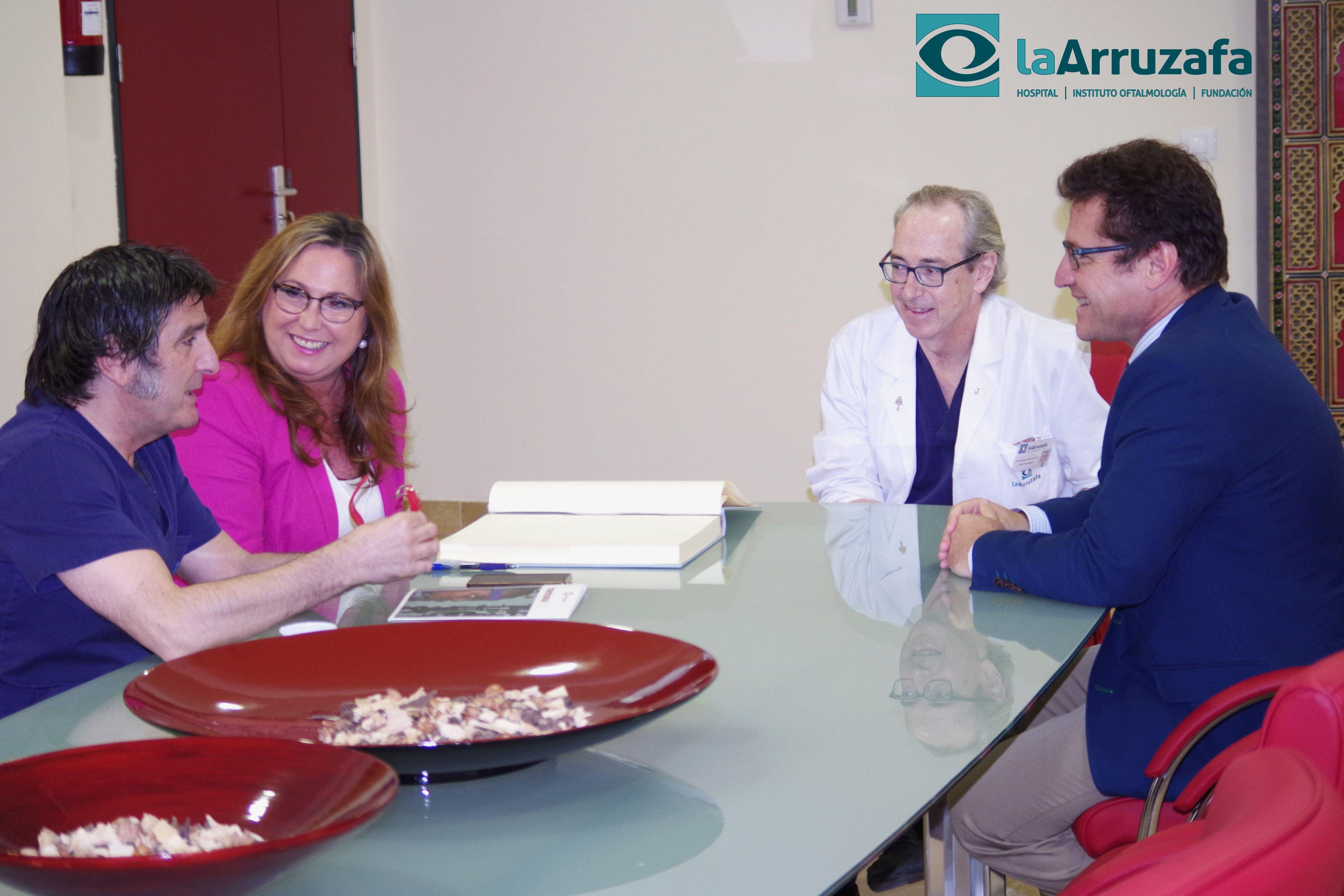 """María Ángeles Luna califica a La Arruzafa como """"centro de referencia"""""""