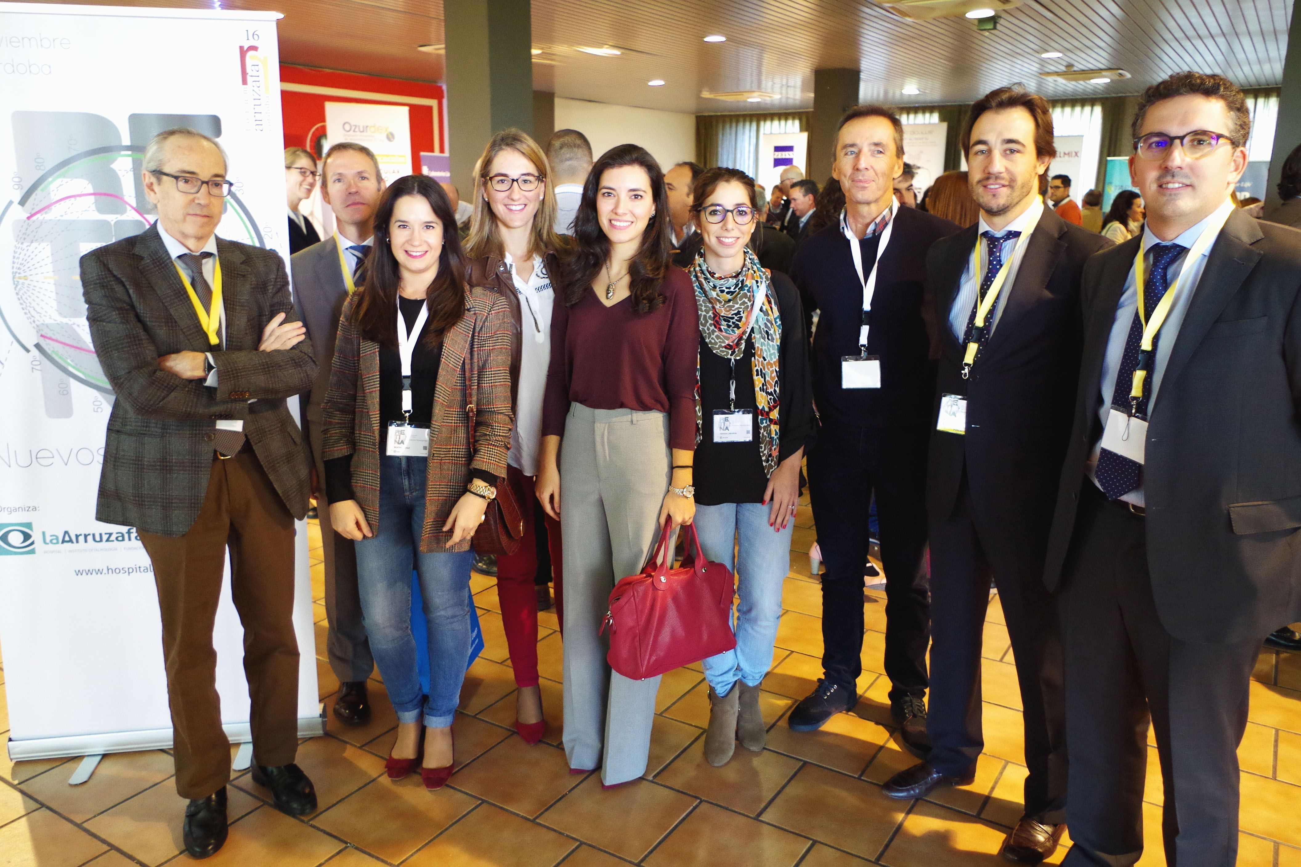 Especialistas del Hospital La Arruzafa en la conclusión de Forum Arruzafa 2016